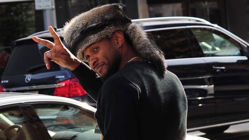 Geht gar nicht! Usher und sein Pelz fallen durch