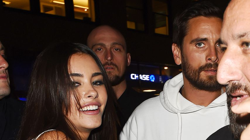 Madison Beer, Scott Disick und David Einhorn (v.l.)