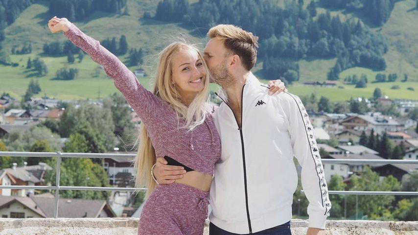 Vadim Garbuzov mit seiner Freundin Nicky