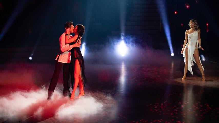 """Valentin Lusin, Renata Lusin und Ella Endlich bei """"Let's Dance"""""""