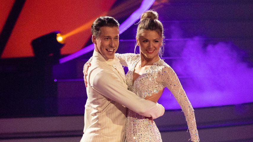 """Ella Endlich mit ihrem Tanzpartner Valentin Lusin bei """"Let's Dance"""""""