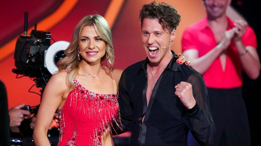 """Valentina Pahde und Valentin Lusin bei der """"Let's Dance""""-Kennenlernshow"""