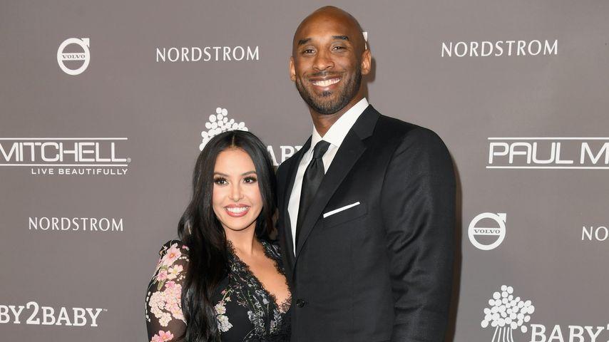 Vanessa Bryant mit ihrem Mann Kobe, November 2018