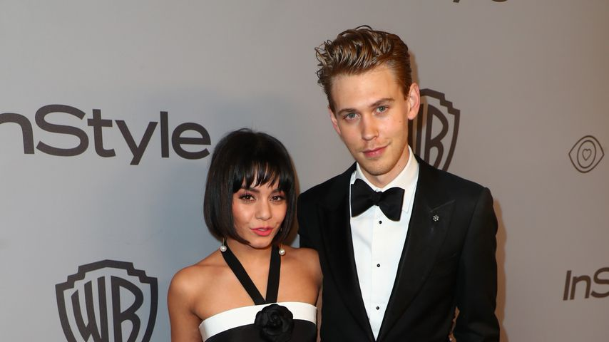 Vanessa Hudgens und Austin Butler bei einer After-Party der Golden Globe Awards 2018