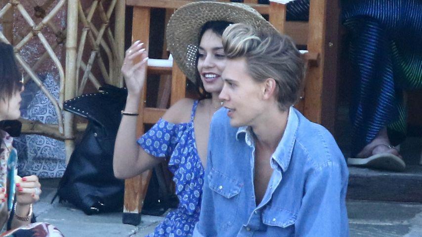 Vanessa Hudgens und Austin Butler in Portofino