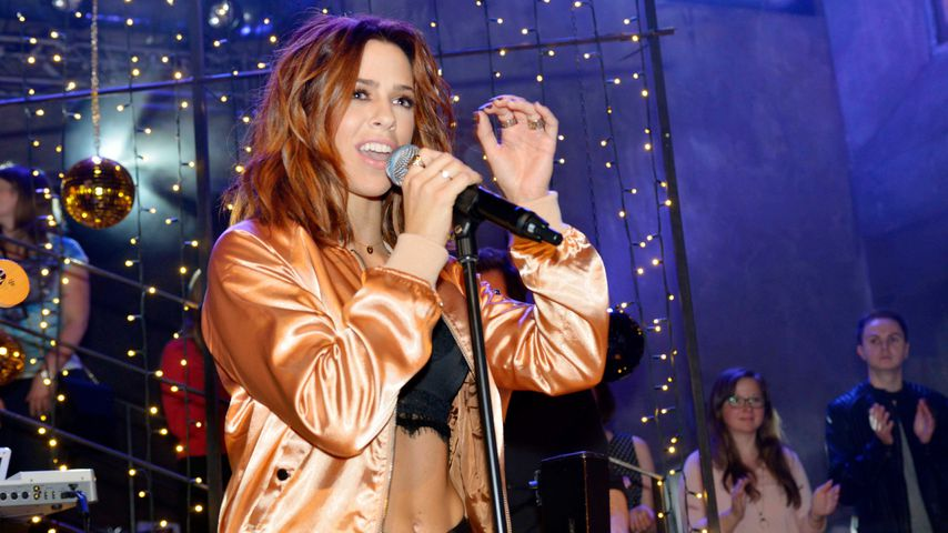 Vanessa Mai auf der Mauerwerk-Bühne