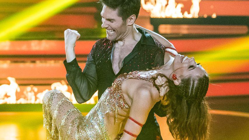 "Christian Polanc und Vanessa Mai bei ""Let's Dance"""