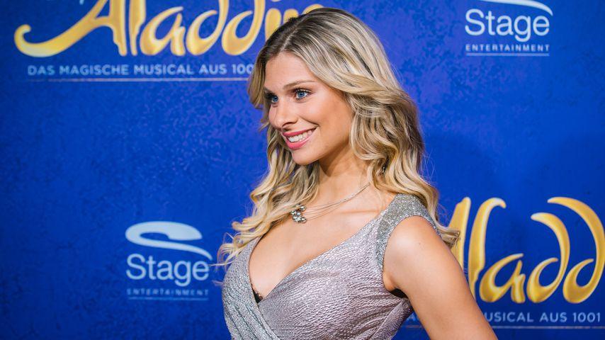 Vanessa Schmitt bei der Premiere des Musical Aladdin