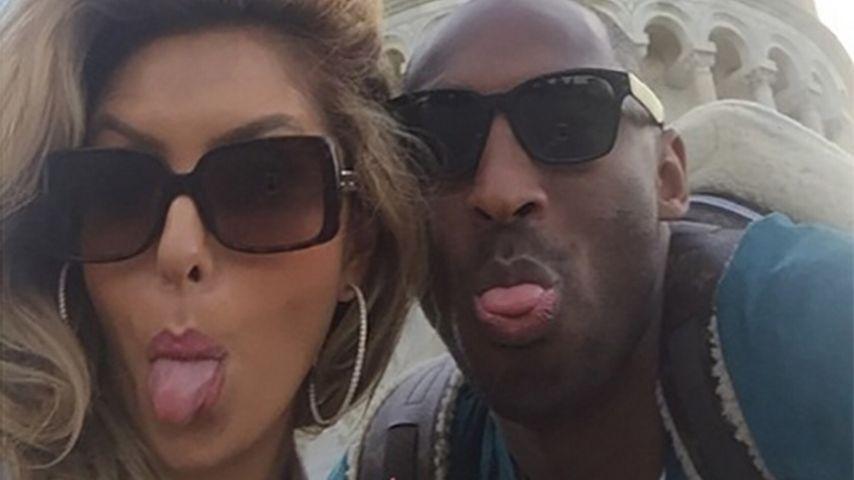 Vanessa und Kobe Bryant in Italien