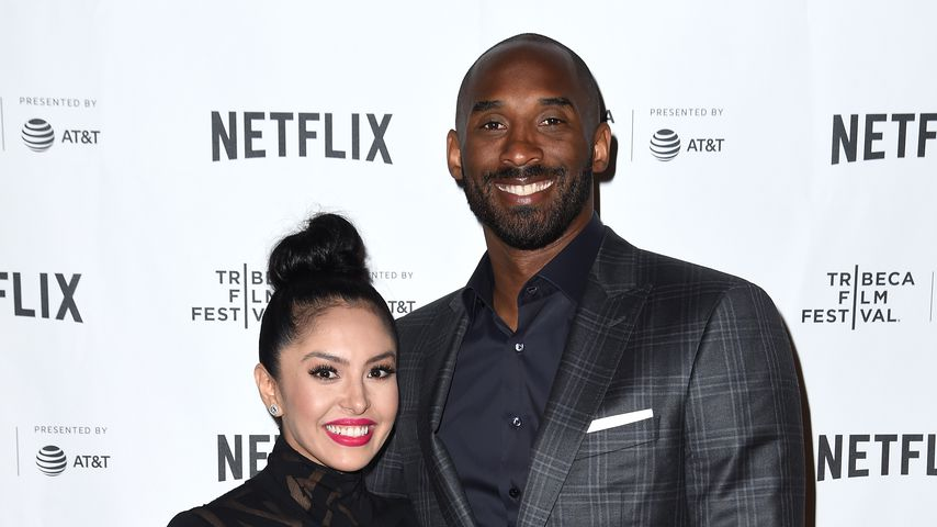 Vanessa und Kobe Bryant in New York, April 2017