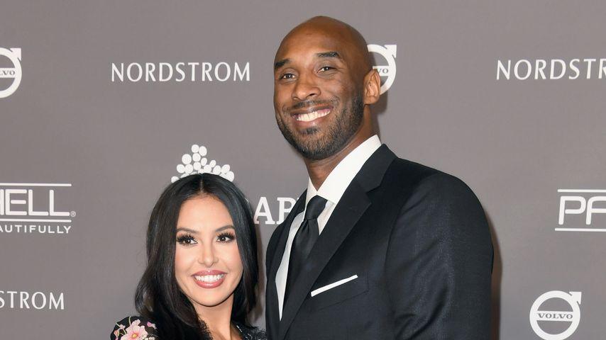 Vanessa und Kobe Bryant im November 2018 in Culver City