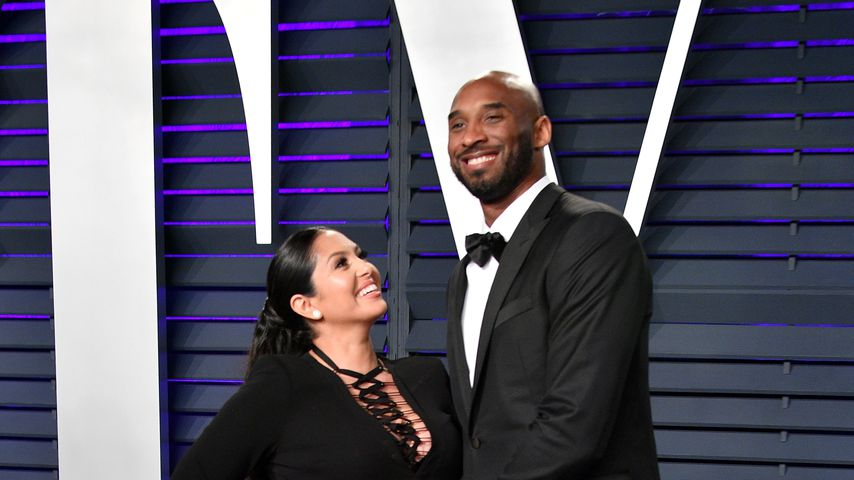 Vanessa und Kobe Bryant, Februar 2019