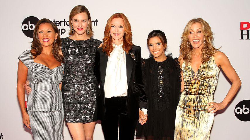 Vanessa Williams, Brenda Strong, Marcia Cross, Eva Longoria und Felicity Huffman