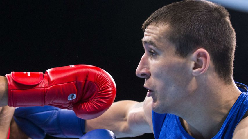 Vasile Belous, Boxer