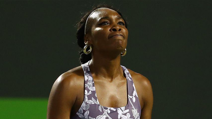 Venus Williams bei einem Tennismatch