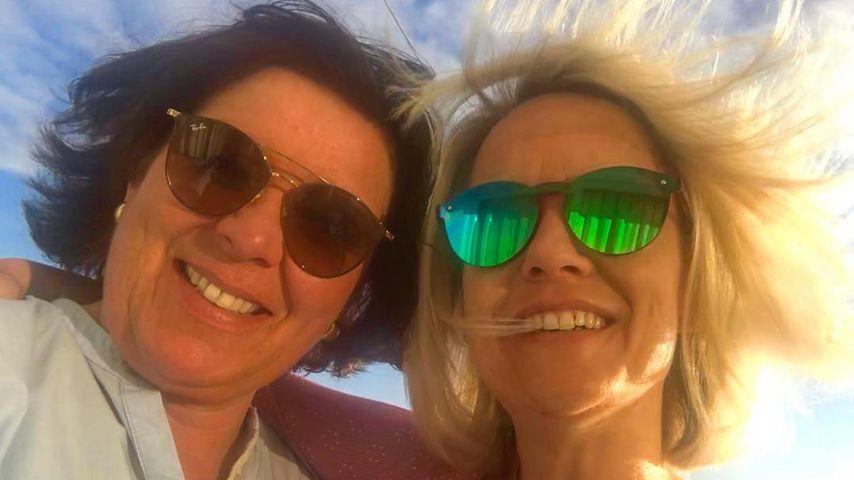 Vera Int-Veen und ihre Frau Obi