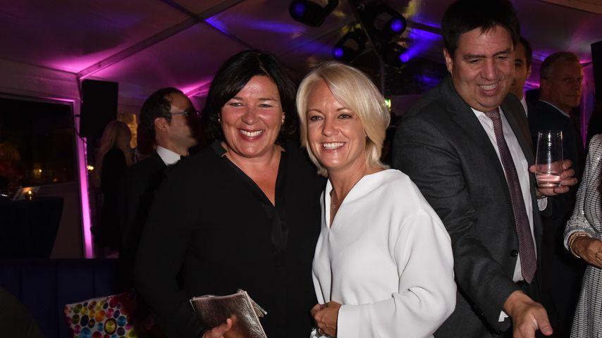 Vera Int-Veen und Obi bei der Bertelsmann Party 2019 in Berlin