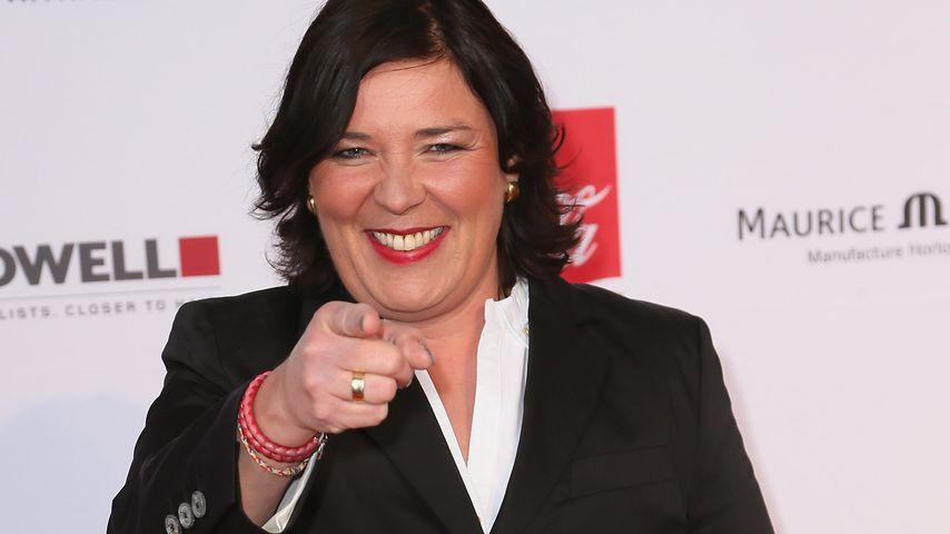 "Vera Int-Veen, Moderatorin der Kuppelshow ""Schwiegertochter gesucht"""