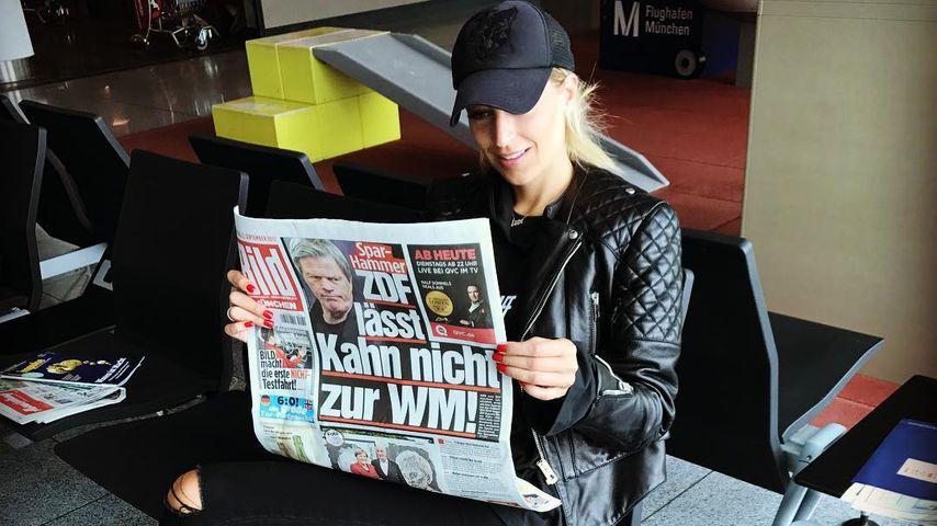 Verena Kerths Post: Fiese Klatsche gegen Ex Oliver Kahn?
