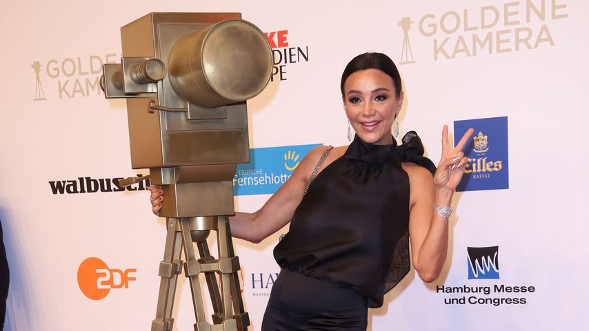 Verona Pooth bei der Goldenen Kamera 2018
