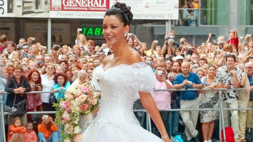 Verona Pooth bei ihrer Hochzeit, September 2005