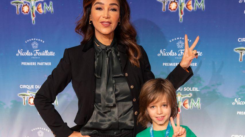 Verona Pooth mit ihrem Sohn Rocco, Dezember 2019
