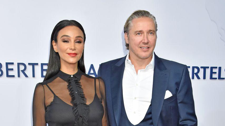 Verona und Franjo Pooth auf der Bertelsmann-Party 2018