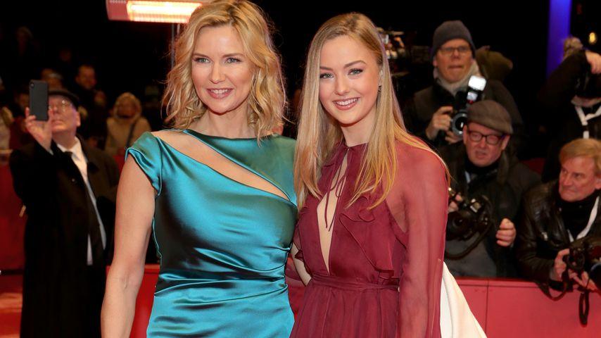Veronica Ferres mit ihrer Tochter Lilly Krug auf der Berlinale, 2020