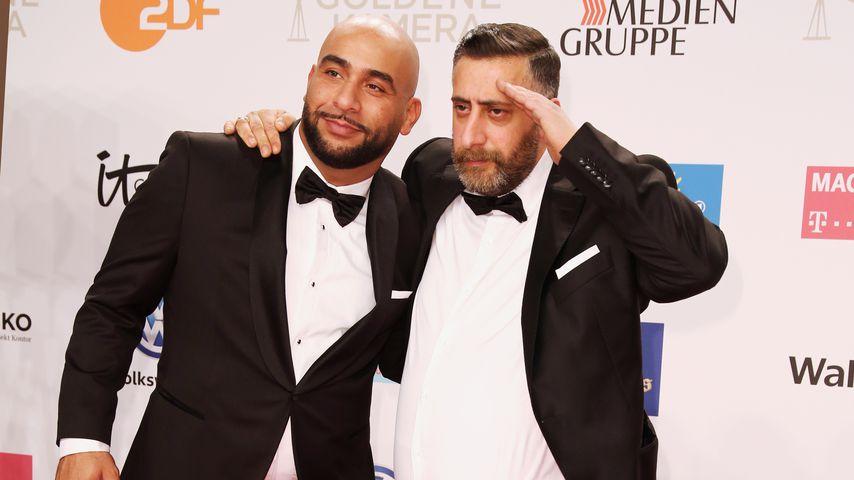 Veysel Gelin und Kida Khodr Ramadan bei der Goldenen Kamera 2019
