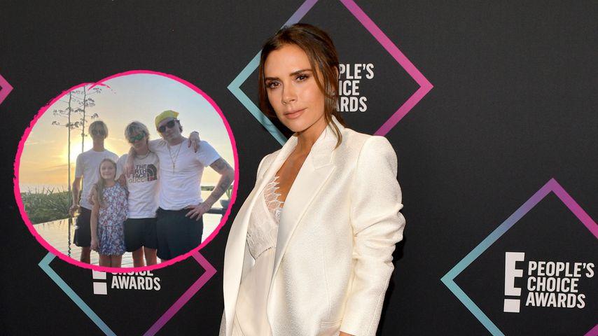 Stolze Mama: Victoria Beckham teilt Polaroids ihrer Kids