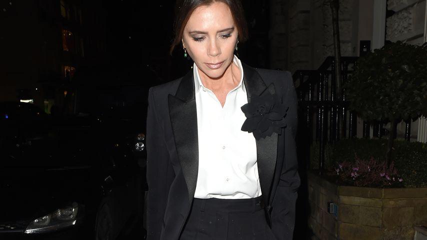 Androgyner Style: Victoria Beckham setzt auf Männer-Sakko