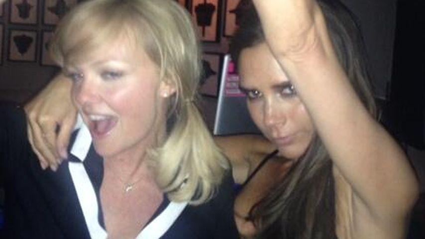 Victoria Beckham: Süße Spice-Girls-Reunion zum 40.