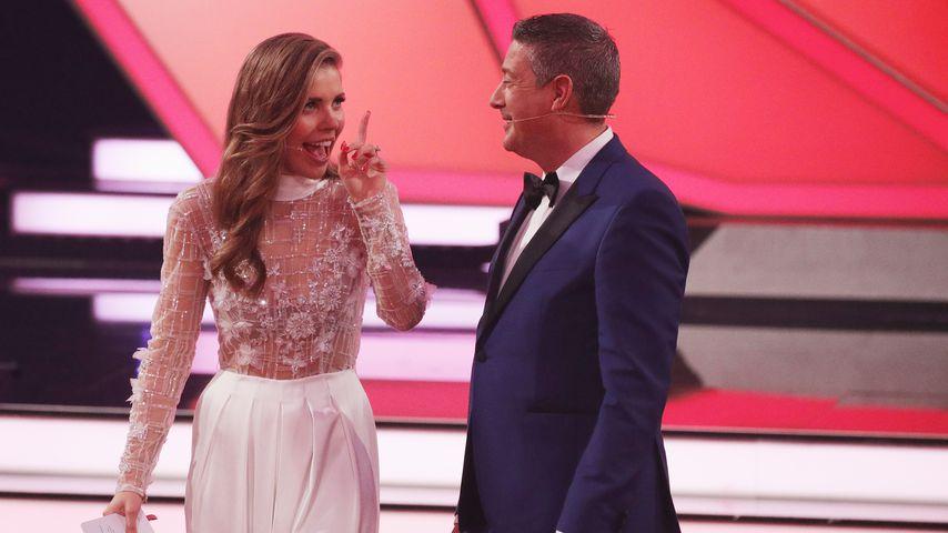 """Victoria Swarovski und Joachim Llambi bei """"Let's Dance"""""""