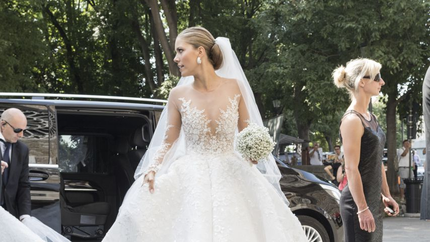 800.000-Euro-Brautkleid: Kein Star toppt Victoria Swarovski