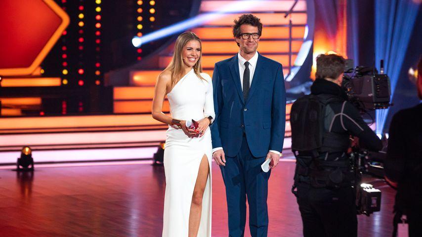 Victoria Swarovski und Daniel Hartwich im Februar 2020 in Köln