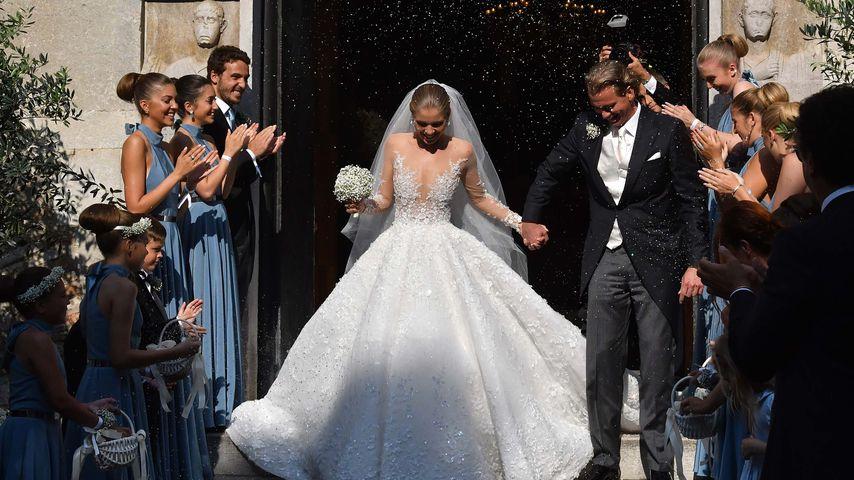 Fans außer sich: Brautkleid-Shitstorm für Victoria Swarovski