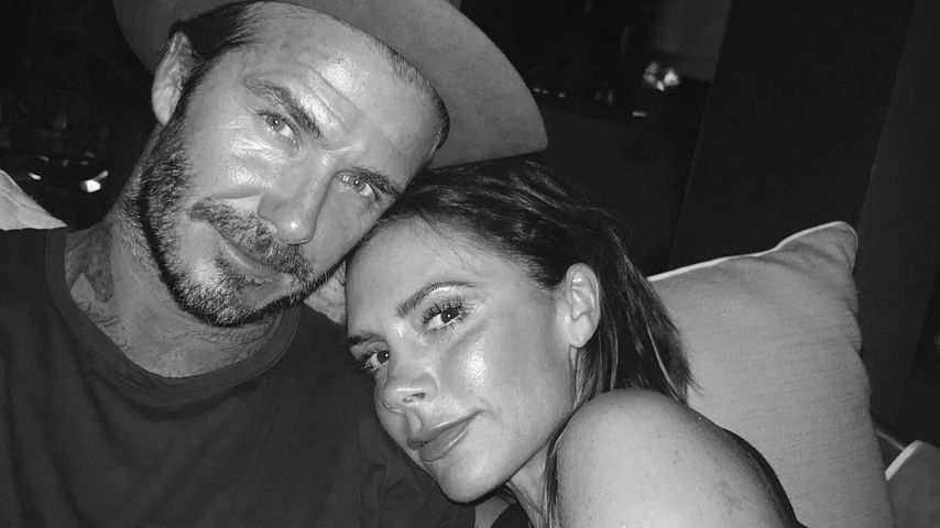 Pärchen-Work-out: Victoria Beckham himmelt ihren David an