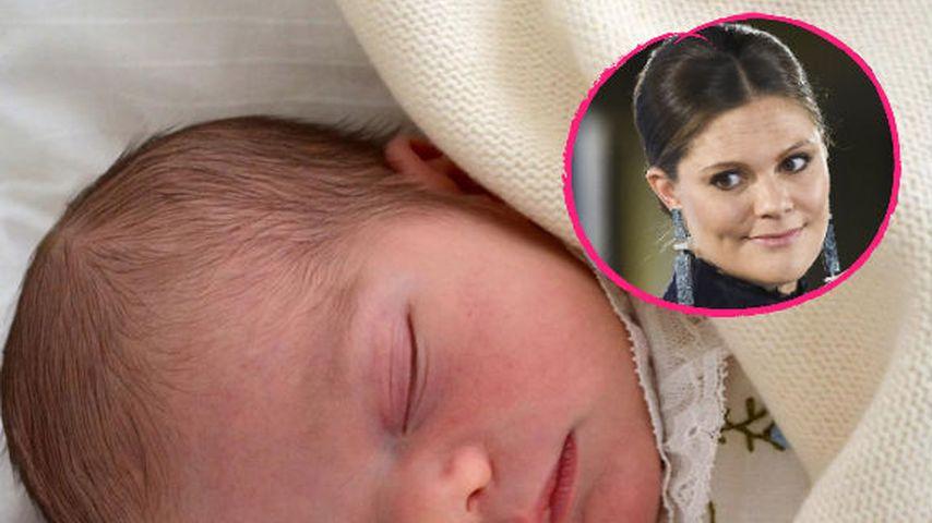 Ganz intim: Prinzessin Victoria fotografierte Oscar selbst
