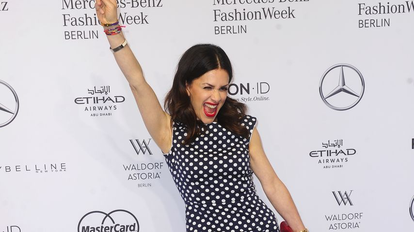 Viktoria Lauterbach bei der Laurèl-Show auf der Mercedes Benz Fashion Week