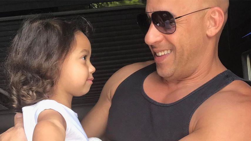 """Megasüß! Hier singt Vin Diesels Tochter (2) """"Happy Birthday"""""""