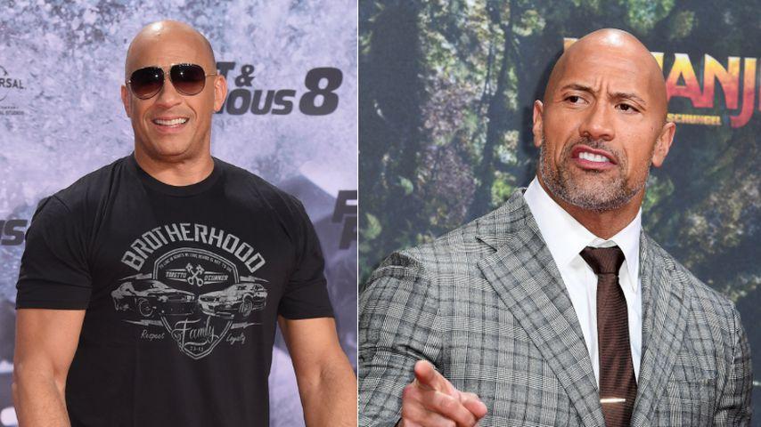 Wegen F&F-Beef mit Vin Diesel: Steigt The Rock jetzt aus?