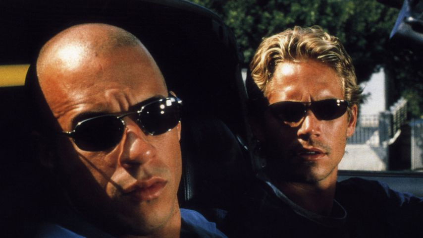 "Vin Diesel und Paul Walker in ""The Fast and The Furious"""