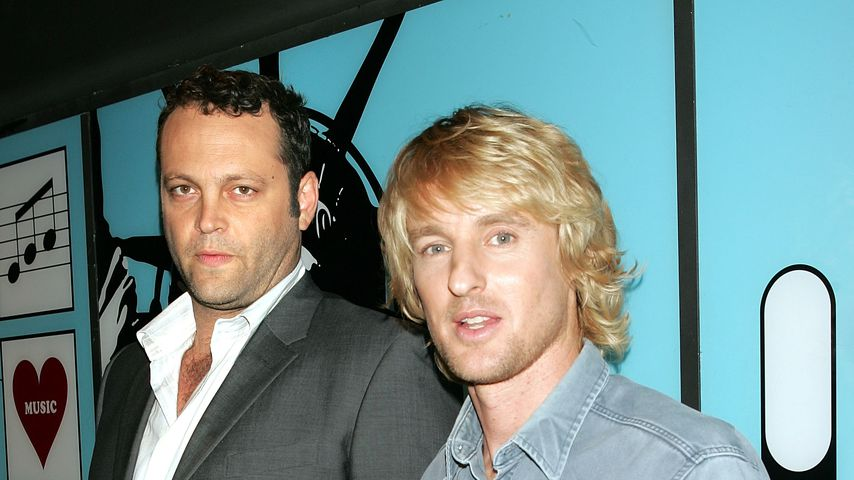 Vince Vaughn und Owen Wilson 2005