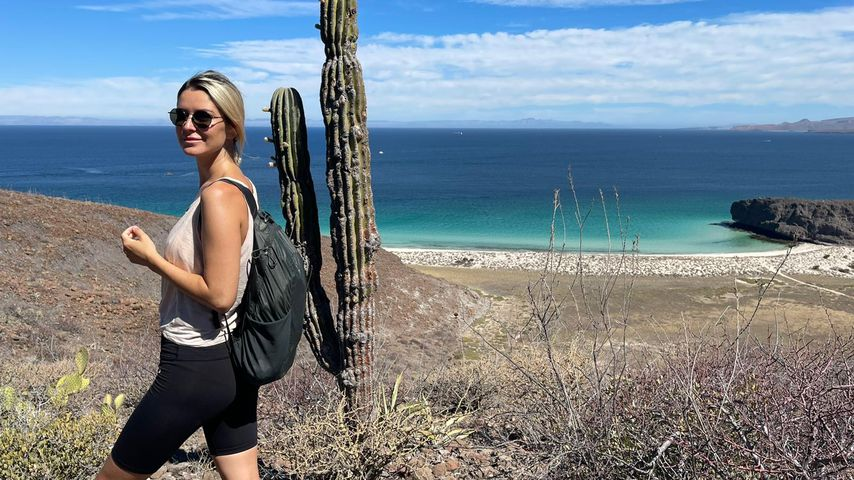 Viola Kraus vor der Küste Mexikos