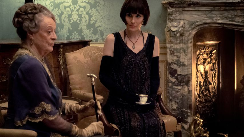 "Violet (Maggie Smith) und Mary (Michelle Dockery) in ""Downton Abbey"""