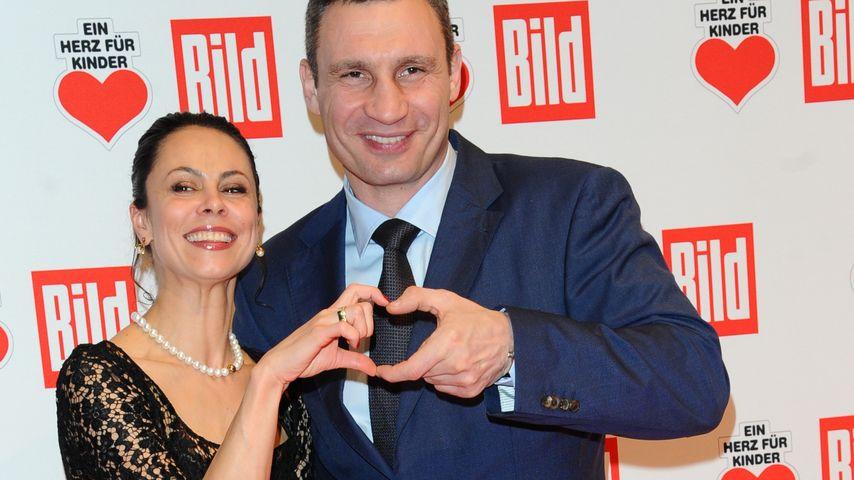 Bald Onkel: Vitali Klitschko freut sich auf's Baby