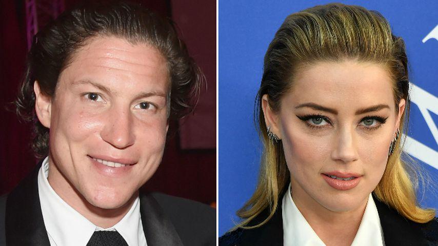 Vito Schnabel & Amber Heard: Sie turteln und tuscheln in NYC