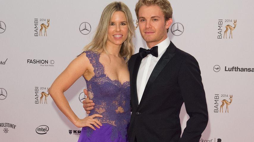 Vivian Sibold und Ehemann Nico Rosberg bei den Bambi Awards 2014