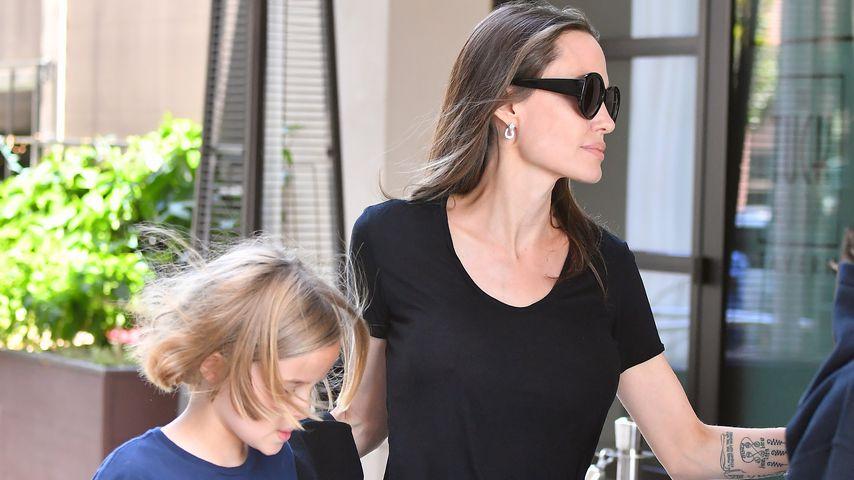 Angelina Jolie & Vivienne (10) genießen Mama-Tochter-Zeit!