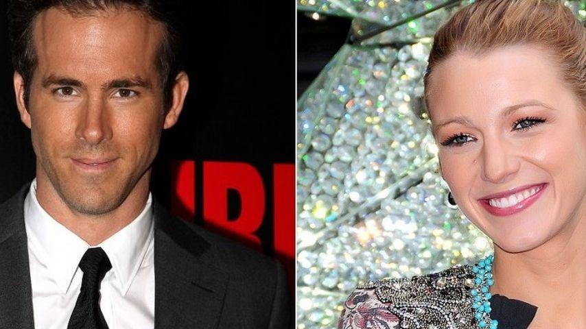 Was läuft zwischen Ryan Reynolds & Blake Lively?